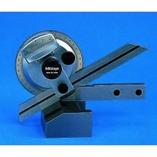Угломер нониусный  0- 90°-0  5' (150, 60°мм, 45°) универсальный с лупой 187-907 Mitutoyo