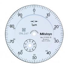 Индикатор часового типа ИЧ-  1 0,001 без ушка ударопроч. 2110SB-10 Mitutoyo