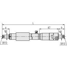 Нутромер микром. НМ  150- 175 0,01 133-147 Mitutoyo