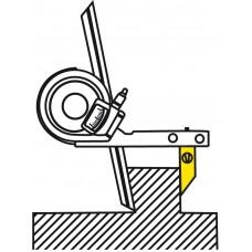 Угломер нониусный  0- 90° 5' (135мм 1°) механический 187-201 Mitutoyo