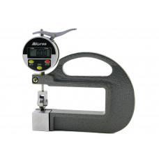 Толщиномер индикаторный электронный ТРЛЦ  0- 10 0,01 роликовый, ручной МИК