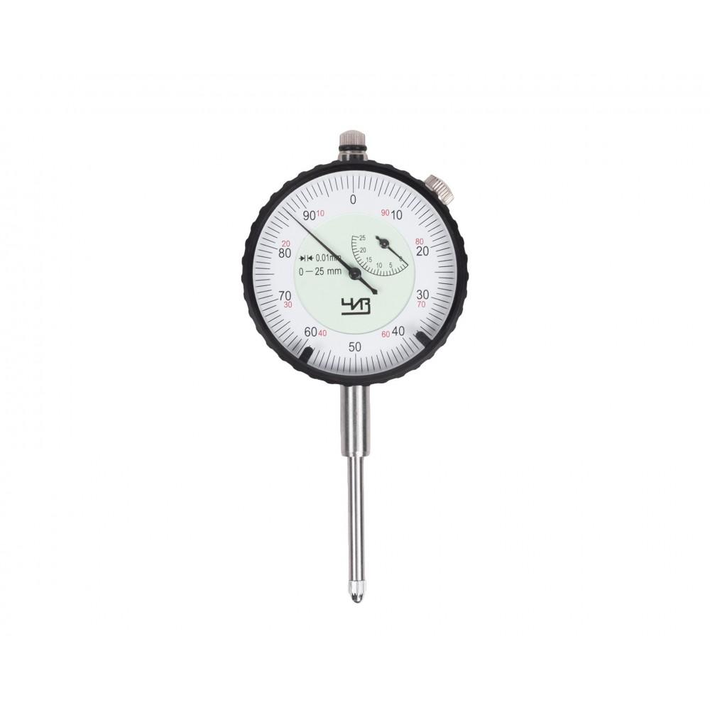 Индикатор часового типа ИЧ- 25 0,01 без ушка с поверкой ЧИЗ