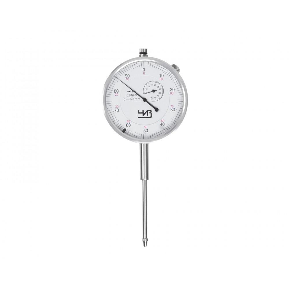 Индикатор часового типа ИЧ- 50 0,01 без ушка с поверкой ЧИЗ*