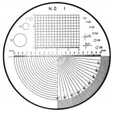 Набор лупа х8 с измерительнымипластинами 183-904 Mitutoyo