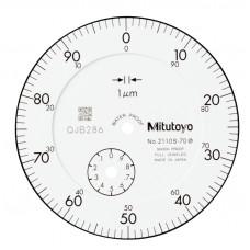 Индикатор часового типа ИЧ-  1 0,001 без ушка IP64 ударопроч. 2110SB-70 Mitutoyo